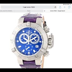 🆕INVICTA Subaqua Chronograph Blue Dial Watch